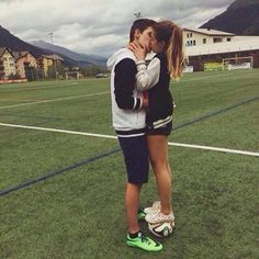 Pareja futbolista ⚽️