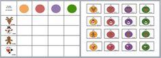 Juf Berdien zelfgemaakte matrix kerstballen met figuur thema kerstmis klas kleuters Advent, Crafts For Kids, Diagram, Holiday Decor, Christmas, Saint Nicolas, Games, Art, Tables