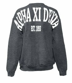 Alpha Xi Delta Stadium Sweatshirt Fashion