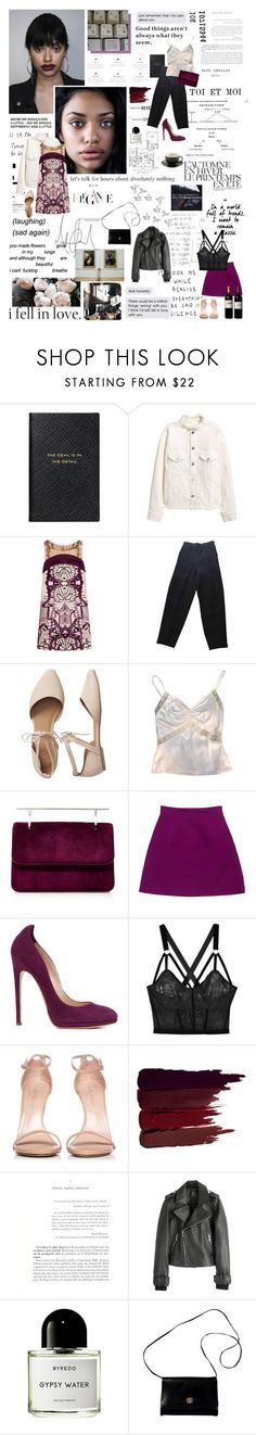 """""""Paris in the Spring"""" by young-grasshopper ❤ liked on Polyvore featuring Grey's Anatomy, Été Swim, Smythson, Just Cavalli, Chanel, Gap, Fleur du Mal, Miu Miu, Chloe Gosselin and Lonely"""
