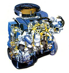 Ford Cosworth Dual Overhead Came Turbo