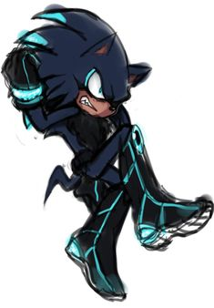 Adrian the Hedgehog, he is also half soulless and half himself. He is the eldest son of Mephiles and Mystic, he also have 2 brothers.