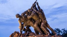 Iwo Jima Memorial Iwo Jima Memorial, Lion Sculpture, Memories, Statue, Spaces, Photos, Pictures, Photographs, Sculpture