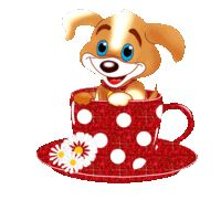 gif Morning Morning, Good Morning Coffee, Good Morning Good Night, Good Morning Quotes, Gifs, Sweet Dreams Pictures, Teacup Animals, Morning Blessings, Heart Images