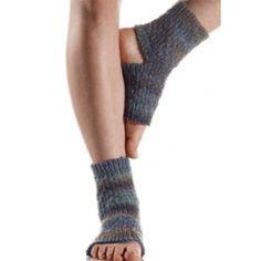 Free Yoga Socks Knit Pattern