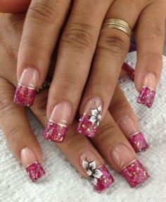 New French Manicure Designs Summer Nailart Nails Magazine Ideas Beautiful Nail Designs, Cute Nail Designs, Beautiful Nail Art, Pedicure Designs, Fabulous Nails, Gorgeous Nails, Pretty Nails, Hot Nails, Hair And Nails