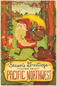 Pacific Northwest Season's Greetings   Flickr