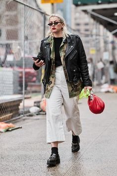 The Latest Street Style From New York Fashion Week | WhoWhatWear