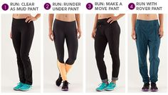 running pants - one for everyone @lululemon athletica