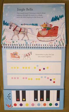 Se întâmplă ca de cele mai multe ori, când auzim de cărți pentru copii, să ne gândim automat la cele cu povești. Cu toate acestea, în ultimii ani, tot mai multe cărți pentru copii cu activități au apărut pe piață, așa încât, nu doar textul dintre paginile unei cărți începe să prezinte interes pentru copii,… Jingle Bells, Songs, Christmas, Xmas, Navidad, Noel, Song Books, Natal, Kerst