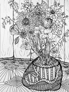 C.t. Rasmuss - ink on watercolor paper 2015.