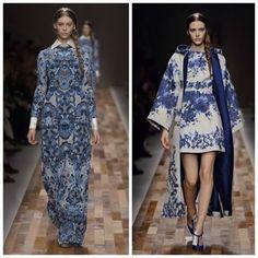 +mood: Blue Valentino  #fashion #look #blue # moda #styling #positivemood #+mood #valentino