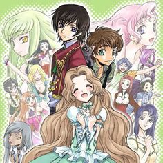 Code Geass (: LOVED THIS ANIME! Was a great two season, cant wait for the new season with Renya!