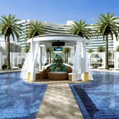 Delano hotel Miami - how DECADENT is this?