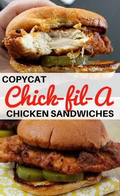 Chick-fil-A, that Southern chain of fried chicken sandwich restaurants, has long been something of a mystery to me. Truett Cathy, the founder of the…Continue Reading Crispy Chicken Burgers, Spicy Chicken Sandwiches, Chicken Sandwich Recipes, Fried Chicken Sandwich, Chicken Patties, Fried Chicken Recipes, Sous Vide Fried Chicken, Chicken Fried Chicken, Air Fryer Chicken Recipes