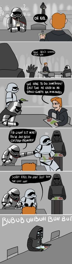 I'd laugh at this but I identify waayy too much. You can sit at my table, Kylo.