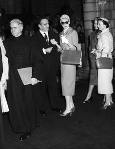 Dîner de répétition avant le mariage : Monaco : mariage de Grace Kelly et du Prince Rainier, photos du conte du Rocher - Journal des Femmes