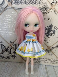 Hey, I found this really awesome Etsy listing at https://www.etsy.com/listing/233615058/blythe-dress-rubber-duckies