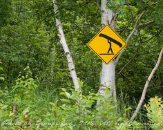 canoe crossing sign... Would be a great idea for a tat