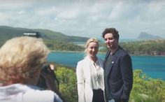 Audi Hamilton Island Race Week - Friday 21 Aug 2015 - On Shore - Asher Keddie and Vincent Fantauzzo