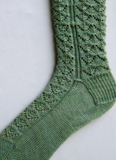 Stricken Socken Muster Purl vergitterte von WearableArtEmporium, $6.50