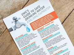 EWGs --- Tap Water Ratings and Rt Filters - Find the right filter for your water - and budget.