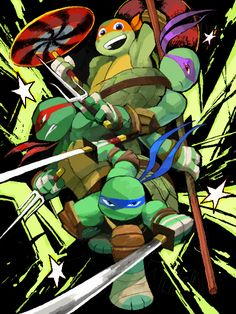 WER'E THE TURTLES OF JUSTICE!