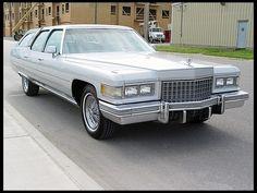 1976 Cadillac Fleetwood Castilian Estate 1/2
