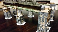 Necromunda, Necromunda Catwalks - Necromunda Catwalks - Gallery - DakkaDakka | You can never have too much Dakka. 40k Terrain, Wargaming Terrain, Diy Table Top, Warhammer 40k, Decoration, Tabletop, Scenery, Miniatures, Catwalks