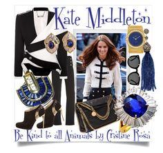 """Kate Middleton"" by cristine-rosa on Polyvore featuring Polaroid, Alexander McQueen, OMEGA, STELLA McCARTNEY, St. John, Karma Jewels, Karen Walker, women's clothing, women's fashion and women"