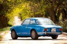 #blue Alfa Romeo GT Junior 1300