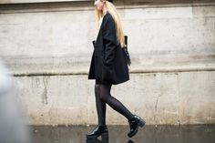 On the Streets of Paris Fashion Week Fall 2014 - PFW Street Style