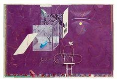 Blatt, Öl auf Leinwand, 270 x 400cm (zweiteilig), 2013