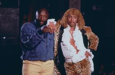 """"""" Isaac Hayes and Rick James """" Great Team, The A Team, Isaac Hayes, Rick James, Music Labels, Rock Concert, Soul Music, Record Producer, Black History"""