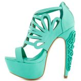 Taylor Says Rory – Teal Suede