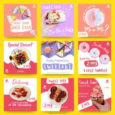 Food Graphic Design, Food Poster Design, Graphic Design Posters, Cafe Menu Design, Social Media Banner, Social Media Design, Social Media Graphics, Web Banner Design, Web Banners