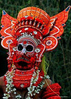 Theyyam - ...... snap from Muzhupilangad Thothen Kunnumbram Sree Porkali Bhagavathy Temple Maholsavam-2015, Kannur District, Kerala