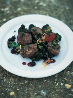 Pan Seared Venison | Game Recipes | Jamie Oliver Recipes