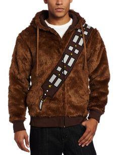 Want! Star Wars Men's I am Chewie Fleece Hoodie