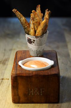 The 'designer' fish and chips that didn't disappoint - Food - How To Spend It