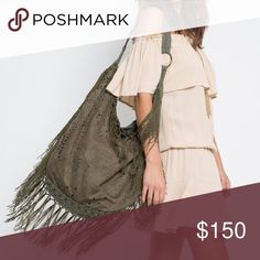 HOBO BAG Fringed Eyelet Large Shoulder Book Tote One Size. New with tags.   • Beautiful polyester laser-cut hobo saddle bag featuring cascading fringe at seams.  • An absolute essential for festivals & perfect for transitioning into any season.  • Fabric handle & open bucket silhouette.  • Inside has 1 zip pocket & 2 pouch pockets;  spacious! • Measurements provided in comment(s) section below.   {Southern Girl Fashion - Boutique Policy}   ✔️ Same-Business-Day Shipping (10am CT). ✔️ Price…