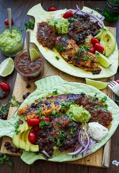 This 30 Mins Mexican Tilapia Fish Dinner will blow your mind--easy, quick and packs on flavor, flavor and more flavor! Absolute deliciousness and speed!