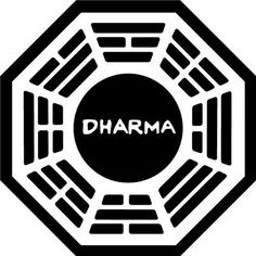 "DHARMA stands for Department of Heuristics And Research on Material Applications. | 16 Things You Probably Didn't Know About ""Lost"" The acronym was never revealed in the show, but could be unlocked during an online ARG (Alternate Reality Game) called The Lost Experience that ran between seasons two and three."