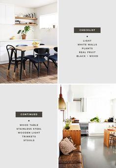 breanna rose / dining room checklist