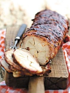 Für ganze Kerle: Barbecue-Tennessee-Schweinerücken mit Bacon