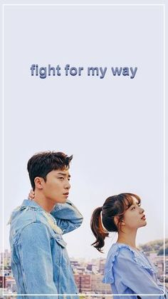 fight for my way k-drama Korean Drama Best, Korean Drama Quotes, Korean Drama Movies, Korean Actors, Korean Dramas, K Drama, Drama Film, Drama Korea, Fight My Way Kdrama