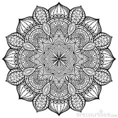 Mandala Black Stock Photos, Images, & Pictures – (3,065 Images) - Page 3