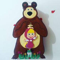 Piñata de masha y el oso #piñatas #piñata #fiestas #fiestasinfantiles... - bestofinsta.org