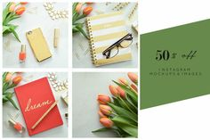 Tulip Dreams 50% Bundle Stock Images by TwigyPosts on Creative Market