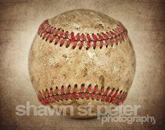 Vintage Baseball Hardball Centered View Photo Print, Decorating Ideas, Wall  Decor, Wall Art, Kids Room, Nursery Ideas, Gift Ideas